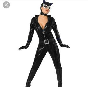 Secret Wishes Sexy vintage Catwoman Costume